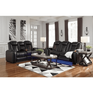 Party Time Reclining Sofa and Loveseat Set