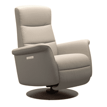 Mike Small Power Swivel Rocker Recliner with Power Headrest and Lumbar