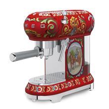 Smeg 50s Retro Style Design Aesthethic Espresso Machine, Dolce & Gabbana
