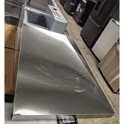 SCRATCH & DENT- 30'' Wall-Mount, 3-Speed Canopy Hood - Stainless Steel