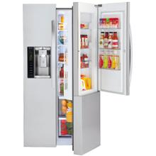 View Product - LG 4 Piece Stainless Steel Electric/Side by Side Kitchen Suite