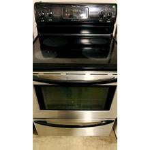 """Product Image - USED- 30"""" Free Standing Electric Range- E30SSGLAS-U   SERIAL #71"""