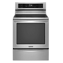 30-Inch 4-Element Induction Freestanding Range, Architect Series II - Stainless Steel