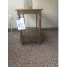 See Details - Caramel Chairside Table Model# H676-916