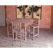 Cabana Barnwood Counter Height Dining Room Set