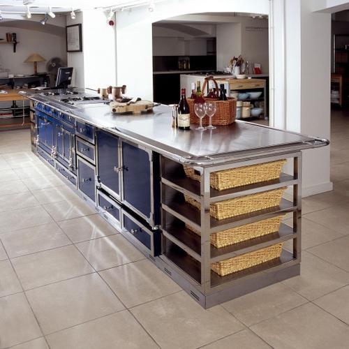 La Cornue - Cuisine de Chateau Cabinetry - Meuble Poubelle 500 - Top