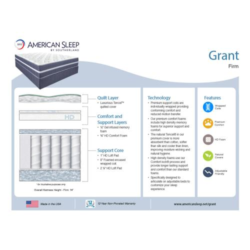 American Sleep - Grant - Firm