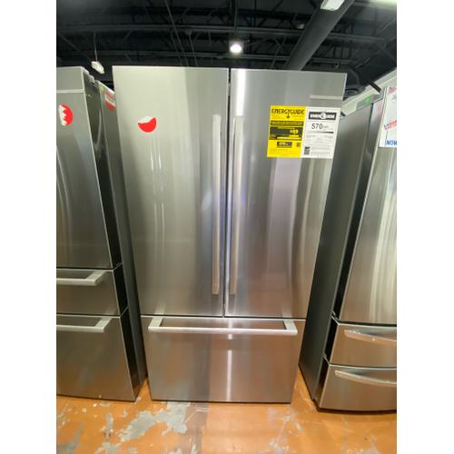 Bosch - Openbox 800 Series French Door Bottom Mount Refrigerator 36'' Easy clean stainless steel B36CT80SNS