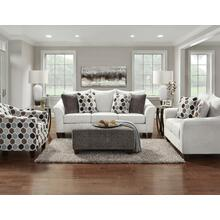 7700 Anna Silver Sofa and Loveseat