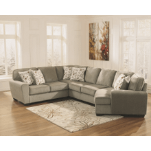 See Details - Patola Park - Patina - 4-Piece Sectional with Right Facing Cuddler