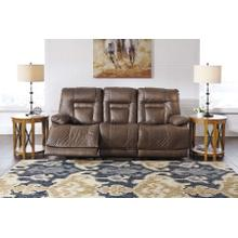 Wurstrow PWR REC Sofa with ADJ Headrest - Umber