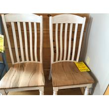 BASSETT BENCH*MADE SIDE CHAIRS (PAIR)