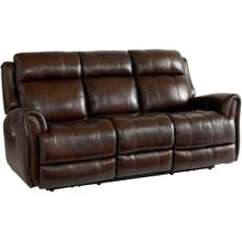 Chocolate Marquee Sofa with Power