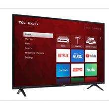 """55"""" 4K Smart TCL, Roku TV"""