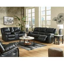 Calderwell Black Reclining Sofa & Loveseat