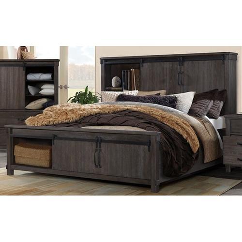 Elements - Scott Dark Bedroom - Queen Bed