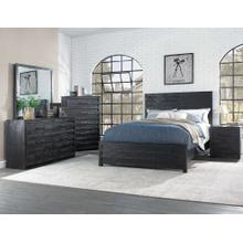 Villa King 4PC Bedroom Set (Bed,Dresser,Mirror and Chest)