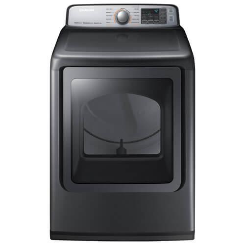 Samsung - Samsung DVE50M7450P 7.4 Cu.ft. Electric Dryer