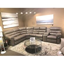 Durant Reclining Leather Sectional