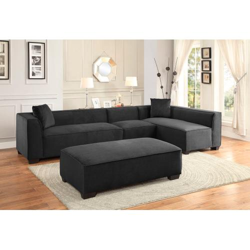 Metz Sectional with Ottoman
