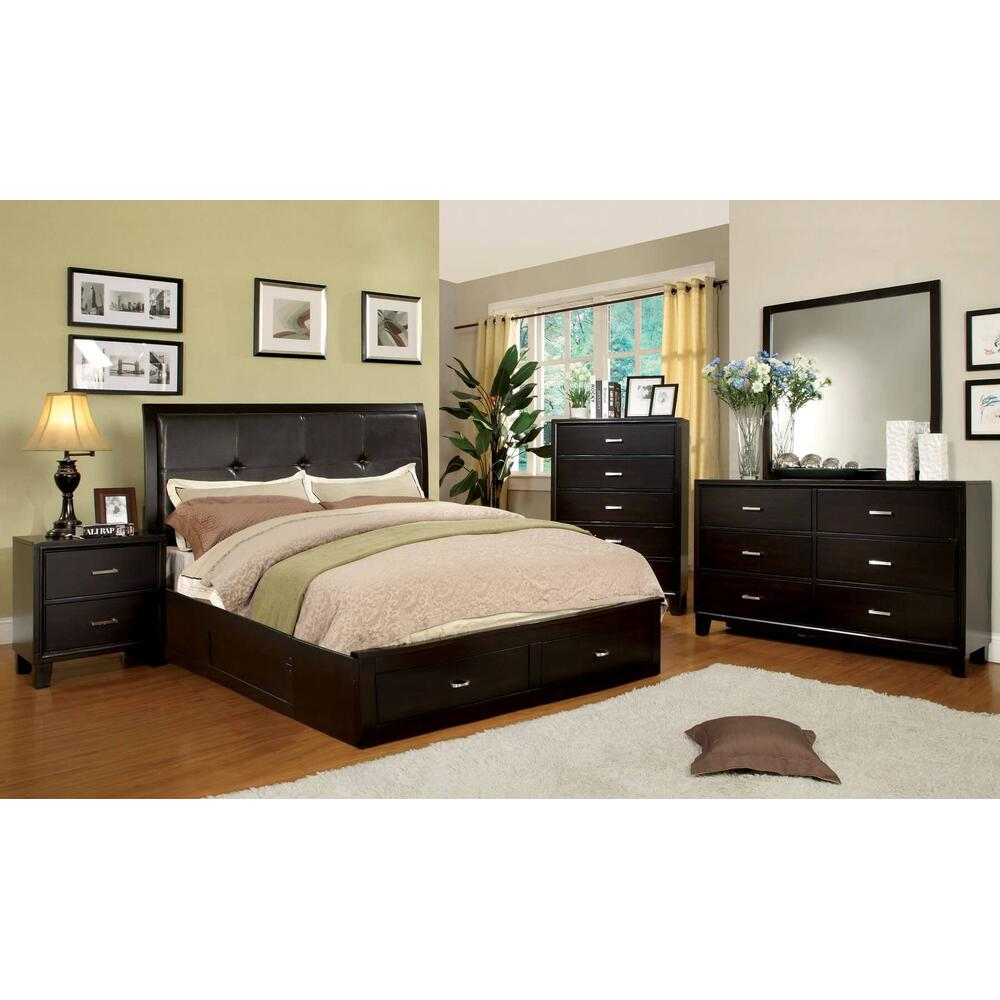 Enrico III 4Pc Cal King Bed Set