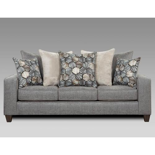 Affordable Furniture Manufacturing - Sparkle Graphite Sofa