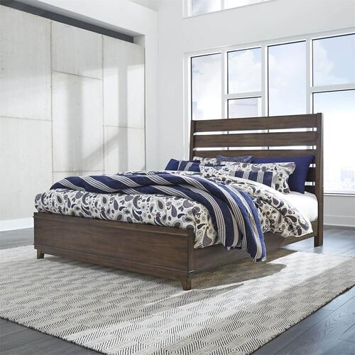 LIBERTY 796-BR15-BR-16 Ventura Bronze Spice King Bed