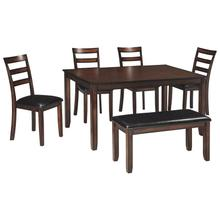 See Details - D385-325 Ashley 6 Pc. Dining Set