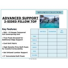 See Details - Advanced Support 2-Sided - Pillow Top