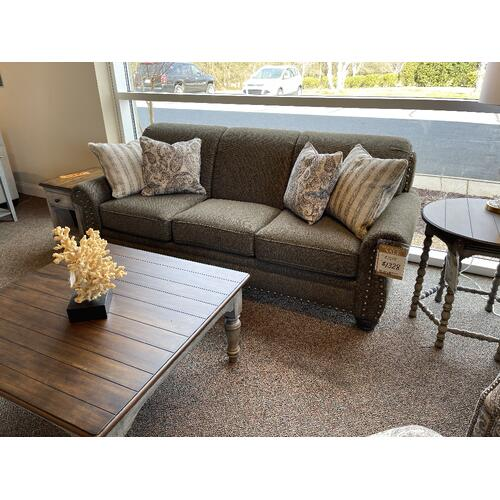 Mayo Furniture - 978 Mesa Sofa in Melody Sage