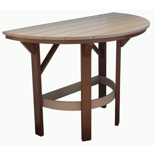 "60"" Half Round Bar Table"