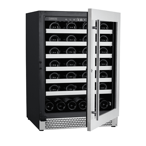 Vinoa Collection - Built-In/Freestanding Wine Cellar - 48 Bottles Capacity - Single Zone