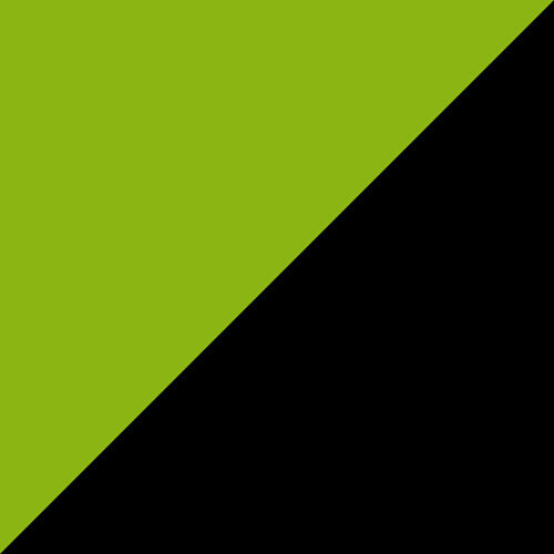 Adirondack Glider 4' Lime Green and Black