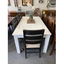 5 Piece Rustic Dining Set