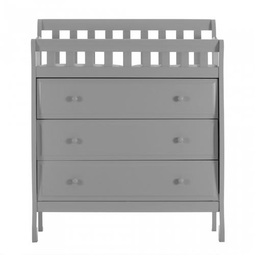 Marcus Changing Table and Dresser - Mystic Grey