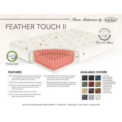 Gold Bond Mattress Company - Feather Touch II Futon Mattress - 0611F0-0130
