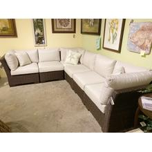 Summer Classics Club Woven Sectional