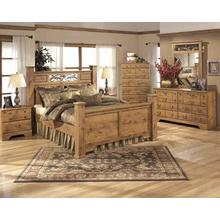 See Details - 5 Piece Bedroom Set - Queen Bed, NIghtstand, Dresser and Mirror, Chest of Drawers