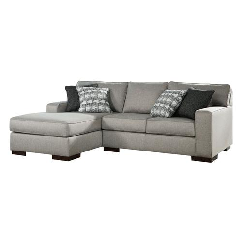Marsing - Nuvella - 5-Piece Sectional with Left Facing Chaise