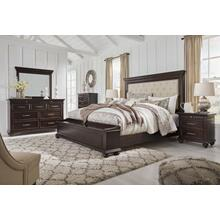 Ashley Furniture Brynhurst Queen Bedroom Set: Queen Bed, Nightstand, Dresser & Mirror