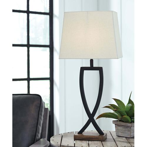 Makara Metal Table Lamp