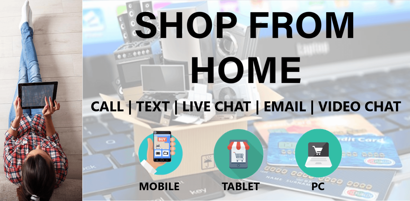 Shop from home banner 1