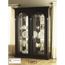 See Details - Capri Two Door Curio