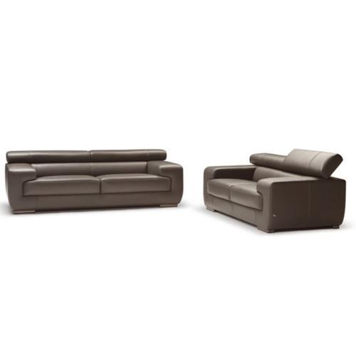Grace Italian Leather Sofa and Loveseat by Nicoletti Calia