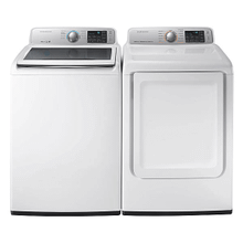 View Product - Samsung 5.8 Cu ft Washer and 7.4 cu ft Dryer Set