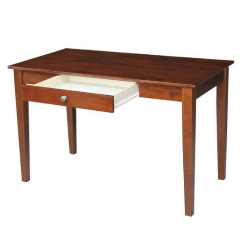48 inch Long Writing Table - Espresso