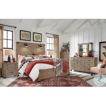 See Details - Queen Bed, Dresser, Mirror and Nightstand (KING AVAILABLE)
