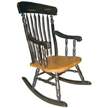 Arrowback Rocker Two-Tone