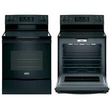 CROSLEY ELECTRIC RANGE 5.3 Cu. Ft.-BLACK