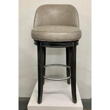 Upholstered Swivel Bar Stool